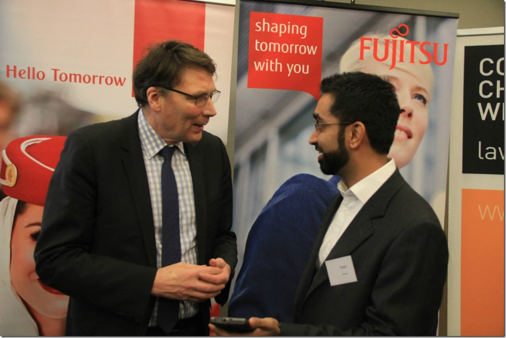 David Thodey and Syed Ahmed