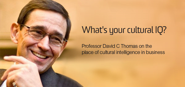 Cultural Intelligence with David Thomas