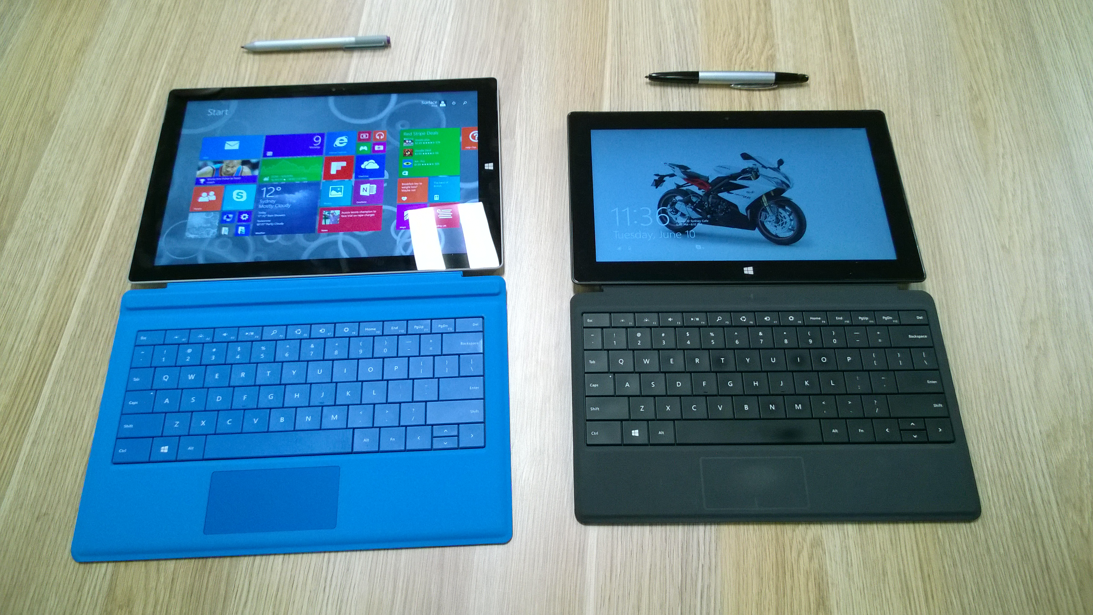 Surface Pro3 and Surface Pro 2