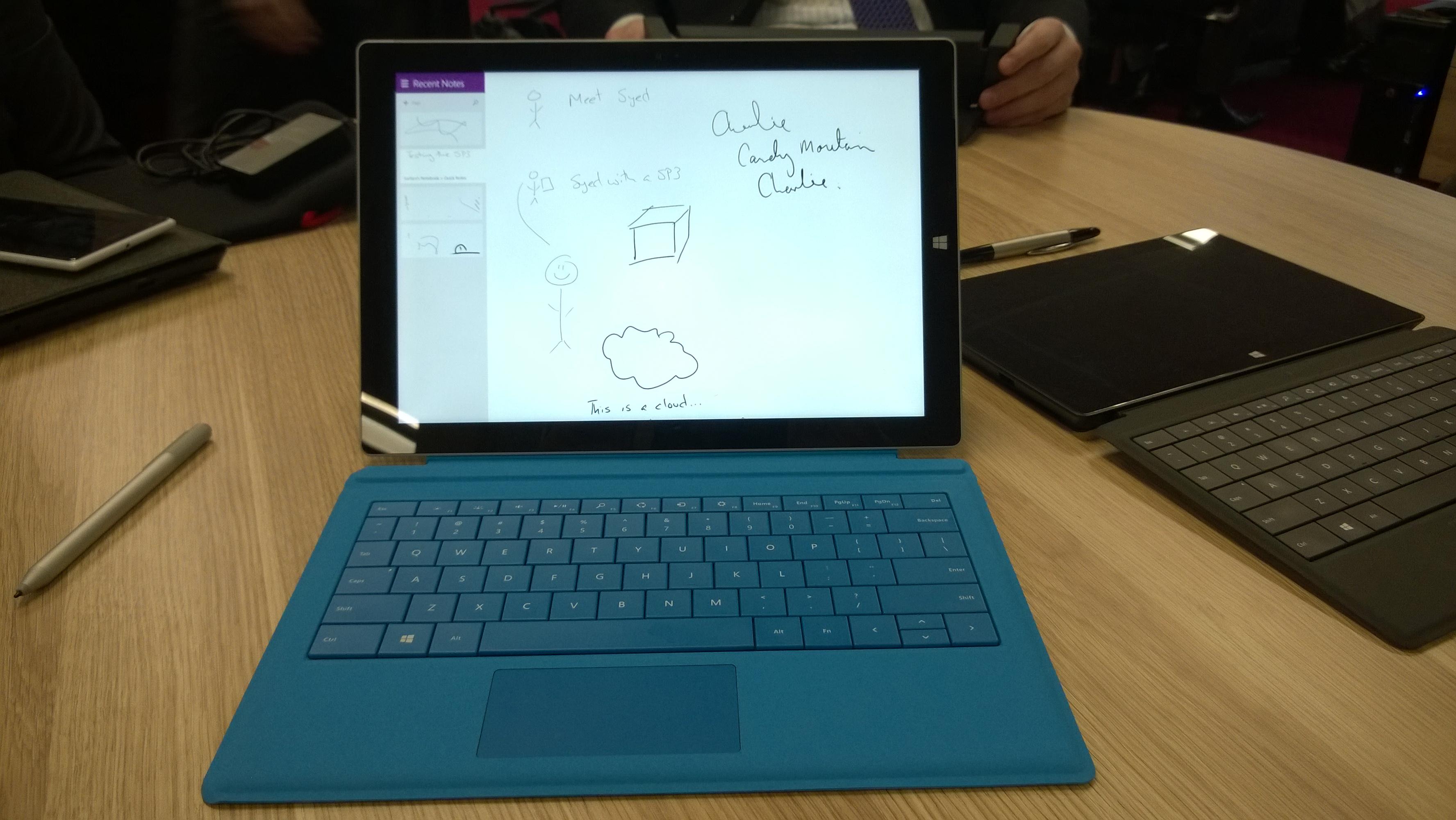 Surface Pro 3 inking